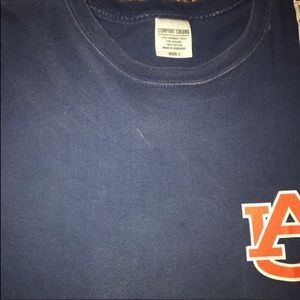 "Comfort Colors Tops - Comfort Colors | AU AL State Flag ""Home"" Shirt"